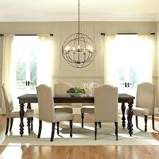 dining room table chandeliers modern fresh 7 piece set of awesome chandelier height transitiona