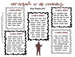 My lyrics and rhymes are original and i didn't copy/paste from anywhere. Rap Poetry Worksheets Teaching Resources Teachers Pay Teachers