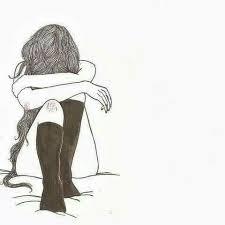 Imagenes de amor en blanco y negro para dibujar imagui. Anime 901069 Triste Dibujos And Blanco Y Negro On Favim Com