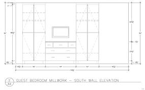 minimum walk in closet size width for standard depth bedroom of