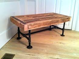 steel pipe furniture. Industrial Steel Coffee Table Pipe Legs Enchanting Furniture Wood Urban Mercantile