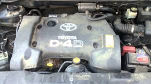 Toyota Corolla 2003 D4D (81kW) cold start problem (-5 C) - YouTube