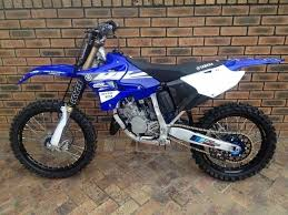 yamaha 150 dirt bike. this is a yamaha yz125 2 stroke. the dirt bike i want to 150 l