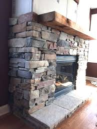 stone veneer fireplace diy a step by step stone veneer installation on a fireplace in only
