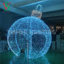 Round Warm White Christmas Lights 3d Giant Bauble Outdoor Decorative Ball Shape Christmas Light Warm White Led Round Ball Christmas Lights Buy Hot Sell Christmas Ball Giant Outdoor