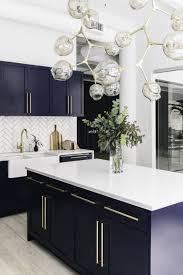 blue kitchen backsplash dark cabinets. This Stunning Navy Blue Kitchen Is A Favorite Hangout Spot Among Homepolish Employees, Obviously. Backsplash Dark Cabinets