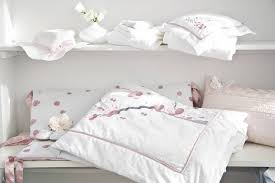 image of japanese cherry blossom baby bedding