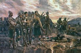 The boer wars were fought between british and dutch settlers of the south african transvaal. Battle Of Magersfontein The Boer War 1899