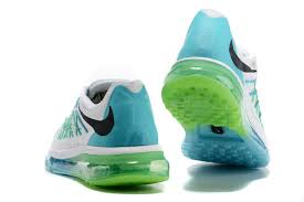 Blue Green Online Nike Air Max 2015 Mens Running Shoes White Blue Green Online