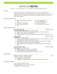 Example Modern Resume Modern Resume Example Examples Professional Samples Best Templates