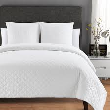 Quilted Washed Belgian Linen Coverlet - On Sale - Free Shipping ... & Quilted Washed Belgian Linen Coverlet Adamdwight.com