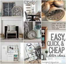 Easy Quick And Cheap Decor Ideas Via Housebyhoff.com