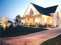kansas lighting white house exterior lighting residential and commercial outdoor lighting services in city