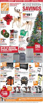 Home Depot Black Friday Ad 2016