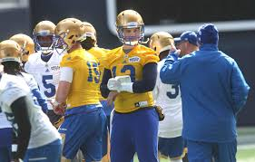 Backup Bombers Qbs Dont Worry About Depth Chart Winnipeg
