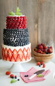 A Berry Covered Birthday Cake A Huge Cake Decorating Secret