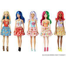 Búp bê Barbie đổi màu 2