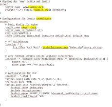 URL - Rewrite konfigurieren auf nginx/1.10.3 - Erste Schritte und ...