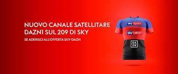 Nuovo canale DAZN sul 209 di Sky - SIEL - Elettronica Audio Video Antenne
