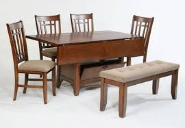 rectangular drop leaf dining table sets