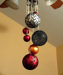 ceiling hanging decorations one of our decorating ideas hang large ornaments from ceiling fans or ceiling hanging decorations