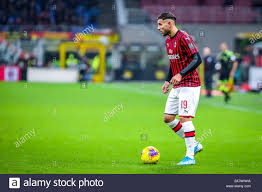 theo hernandez (ac milan) during AC Milan vs S.S. Lazio ...