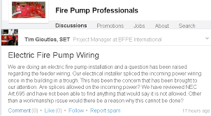 electric fire pump controller wiring protection and splices mike Fire Pump Wiring Diagram i'm not sure what he's calling a \