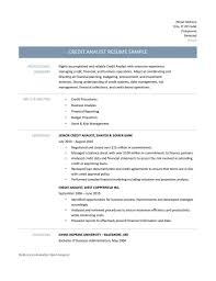 Credit Analyst Resume Example Credit Analyst Resume Samples Tips And Templates Online Resume