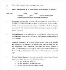 40 Rental Agreement Templates PDF DOC Free Premium Templates Interesting Apartment Rental Agreement Template Word