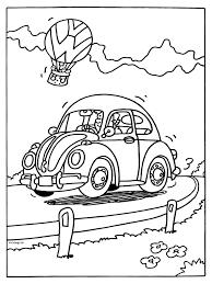 Kleurplaat Volkswagen