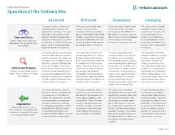 speeches of the vietnam war guides turnitin com speechesofthevietnamwar xp rubric image 2017 10 19 page 1 png