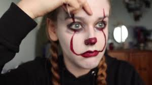 Easy Halloween Face Painting Designs It Pennywise Facepaint Tutorial
