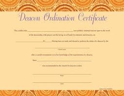 blank ordination certificates 23 images of deacon ordination certificate template blank canbum net