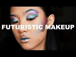futuristic makeup tutorial