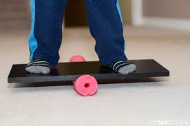 diy balance board for kids from and next comes l