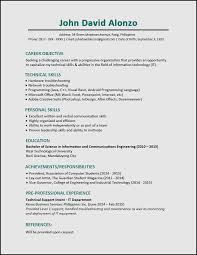 What A Good Resume Looks Like Sample Resume For Fresh Graduate Nurses Without Experience 65