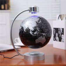 220v desk toy educational magnetic levitation floating globe world map gift 8 inch black color hot