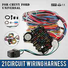 21 circuit ez wiring harness chevy universal extra ford install ebay ez wiring harness instructions at Ez 21 Wiring Harness