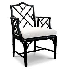 Chippendale Furniture Black Chippendale Arm Chair Alb650 Oriental Style Bedroom