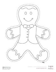 Gingerbread Man Story Crafts And Ideas Printable Preschool