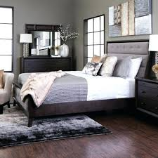Jeromes Bed Sets Gray Tufted Bedroom Set Queen Size Panel Bed Home ...