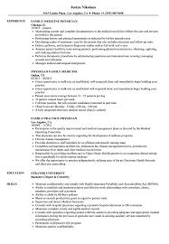 Family Physician Resume Samples Velvet Jobs