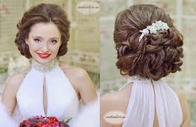 Svadobný účes Voľné Vlasy S Kvetmi Najlepšie Svadobné účesy Pre