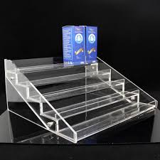 E Liquid Display Stand Acrylic E Liquid Bottle Display Stands Clear Shelf Holders Vape 63