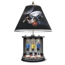 Star Trek Bathroom Accessories The Star Trek Transporter Lamp Hammacher Schlemmer
