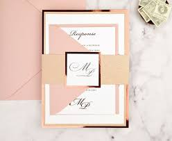 rose gold blush suite glitter mirror paper diy