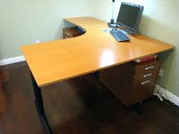 shaped computer desk home office. Corner Office Desk Ikea L Shaped Computer Home I