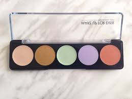image the make up forever 5 camouflage cream palette