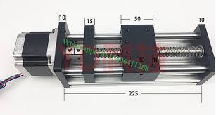 sgk 1605 100mm ball screw slide rail linear guide moving table slip way 1pc nema 17 stepper motor