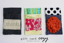 Easy Things To Make Gift Card Cozy Make It And Love It